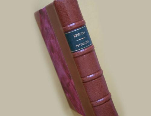 Restauración del Traité élémentaire ou Principes de Physique de 1797